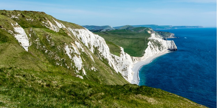 an image of the Jurassic Coast, a UNESCO World Heritage Site in Dorset